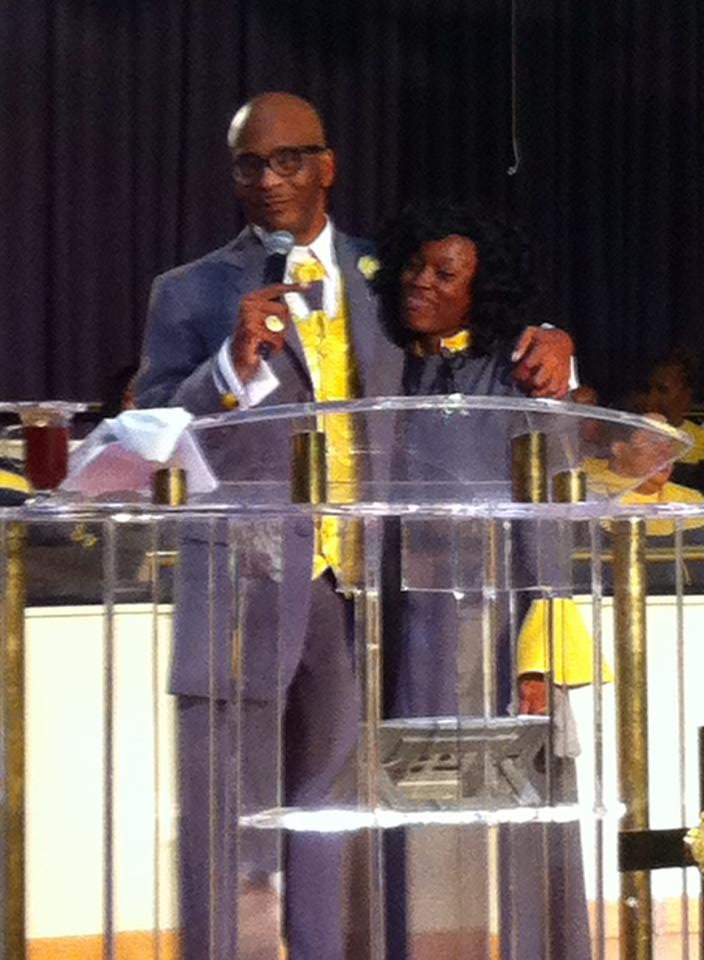 Bishop Larry Trotter's invitation to his wedding   Welcome to ...