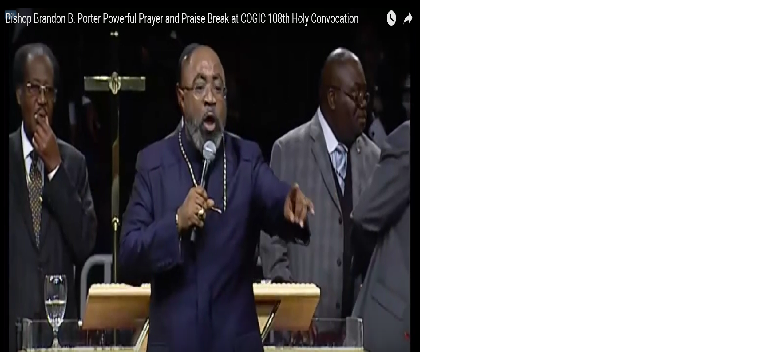 Cogic Bishop being asked to resign to save church embarrassment